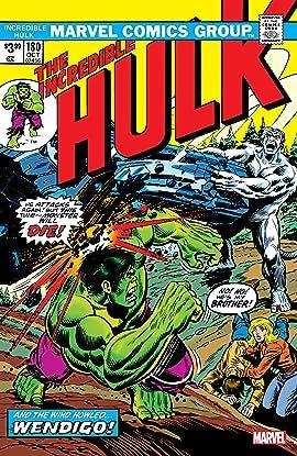 Incredible Hulk (1962-1999) #180: Facsimile Edition