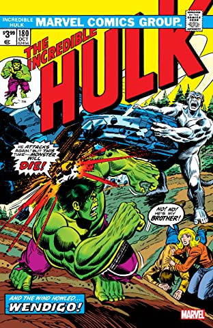 Incredible Hulk (1962-1999) No.180: Facsimile Edition