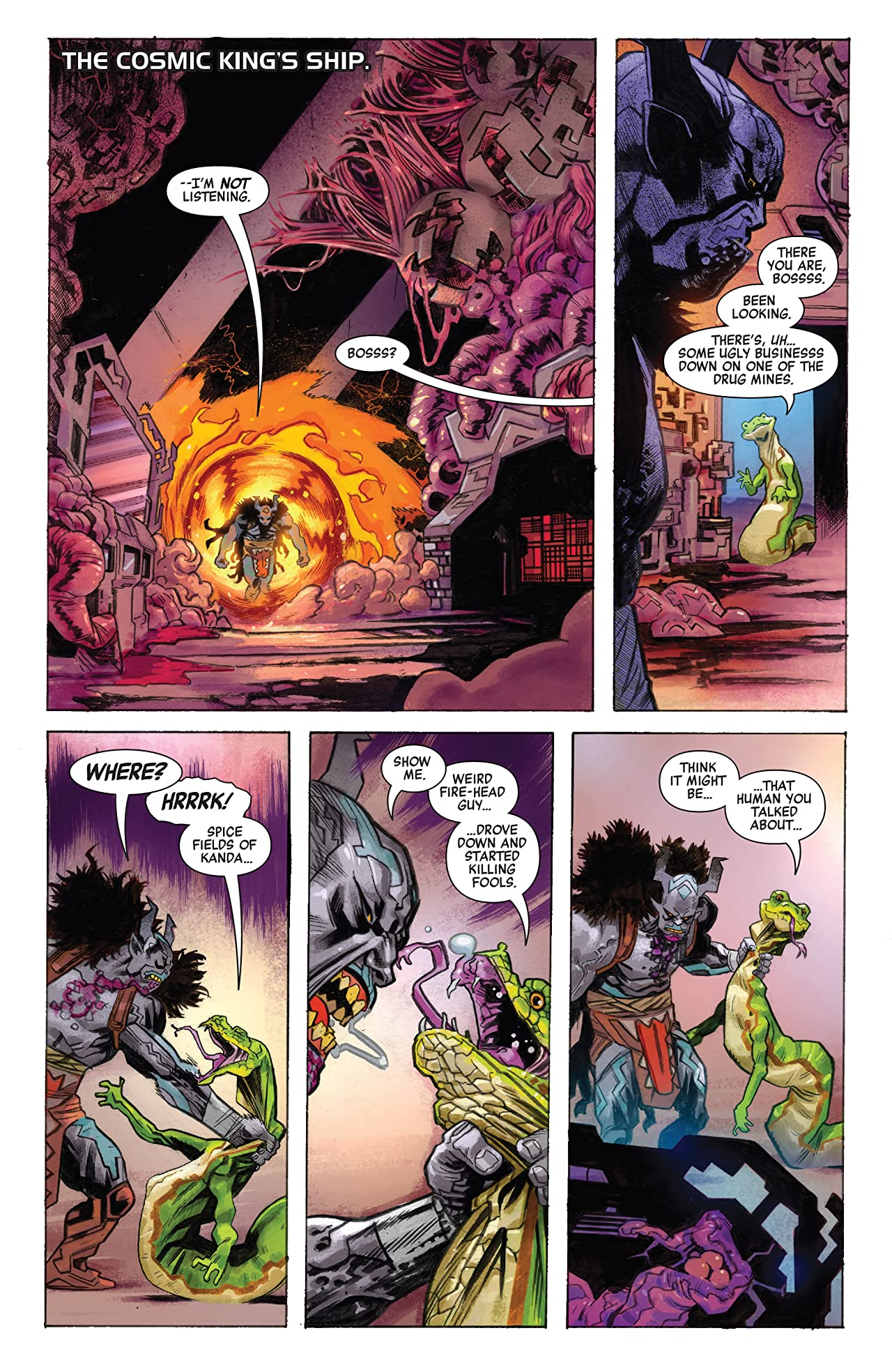 Revenge Of The Cosmic Ghost Rider (2019-) #2 (of 5)