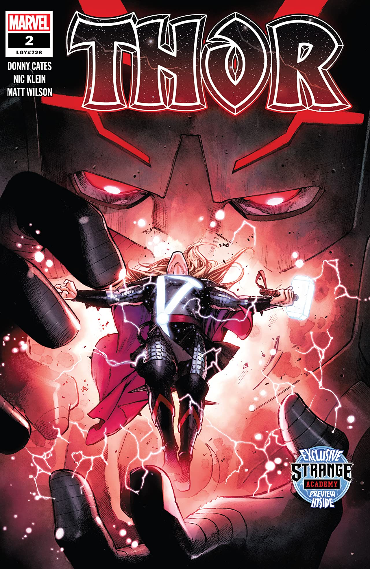 Image result for thor 2020 comic #2""