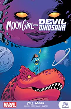 Moon Girl And Devil Dinosaur: Full Moon