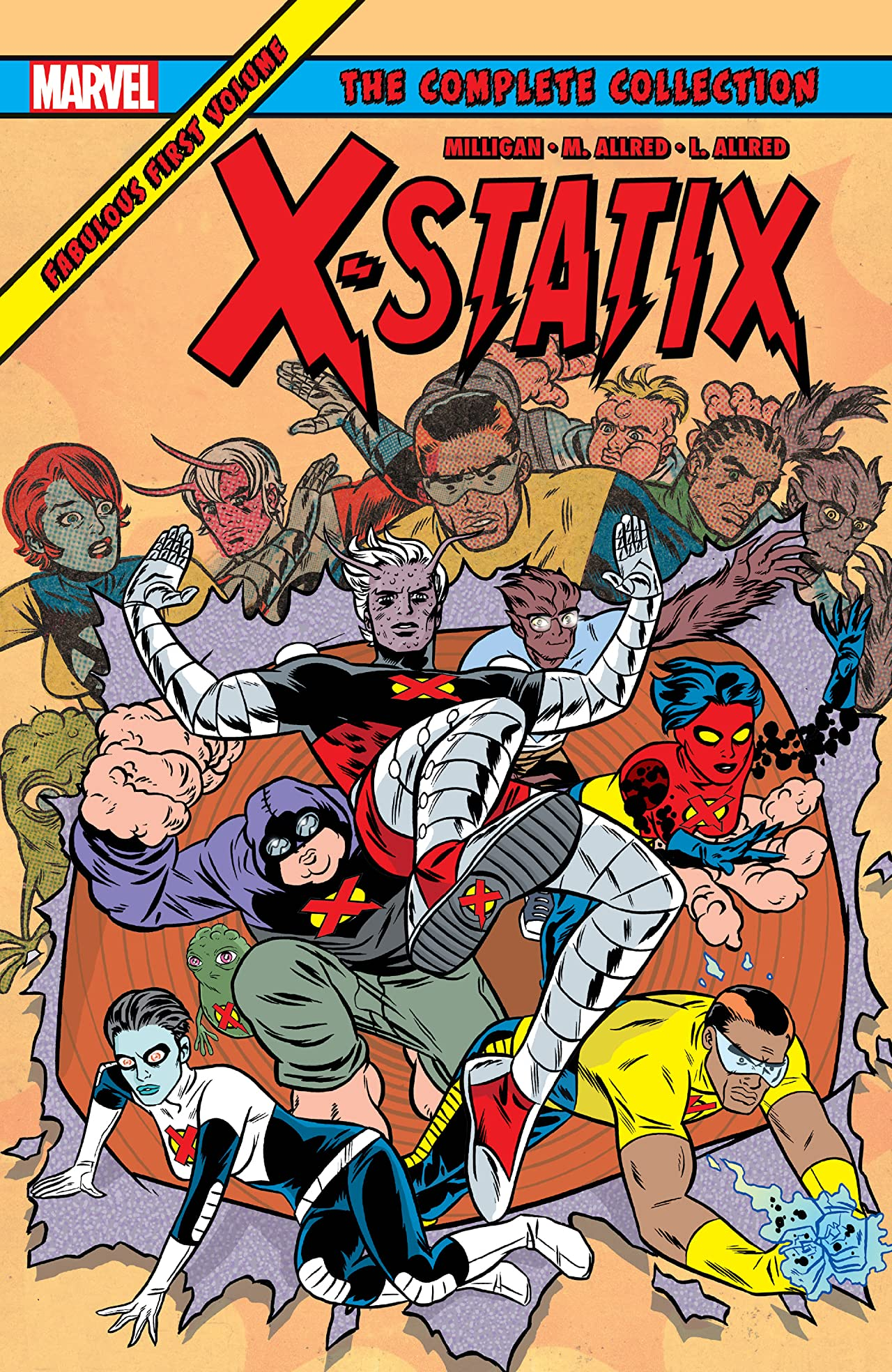 X-Statix: The Complete Collection Tome 1