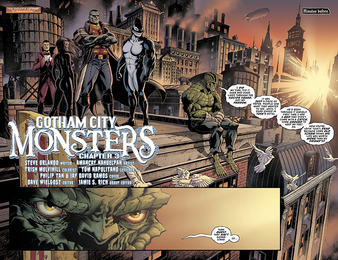 Gotham City Monsters (2019-) #3