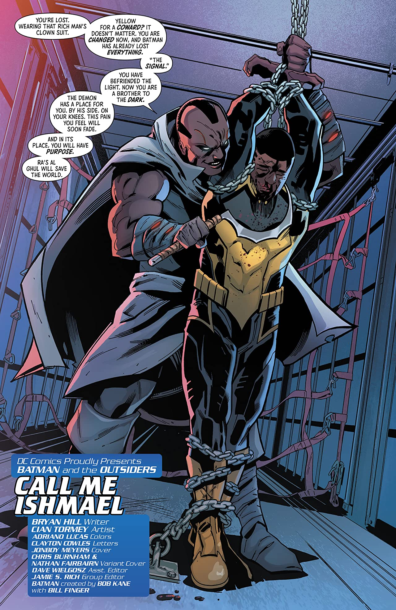 Batman and the Outsiders (2019-) #7