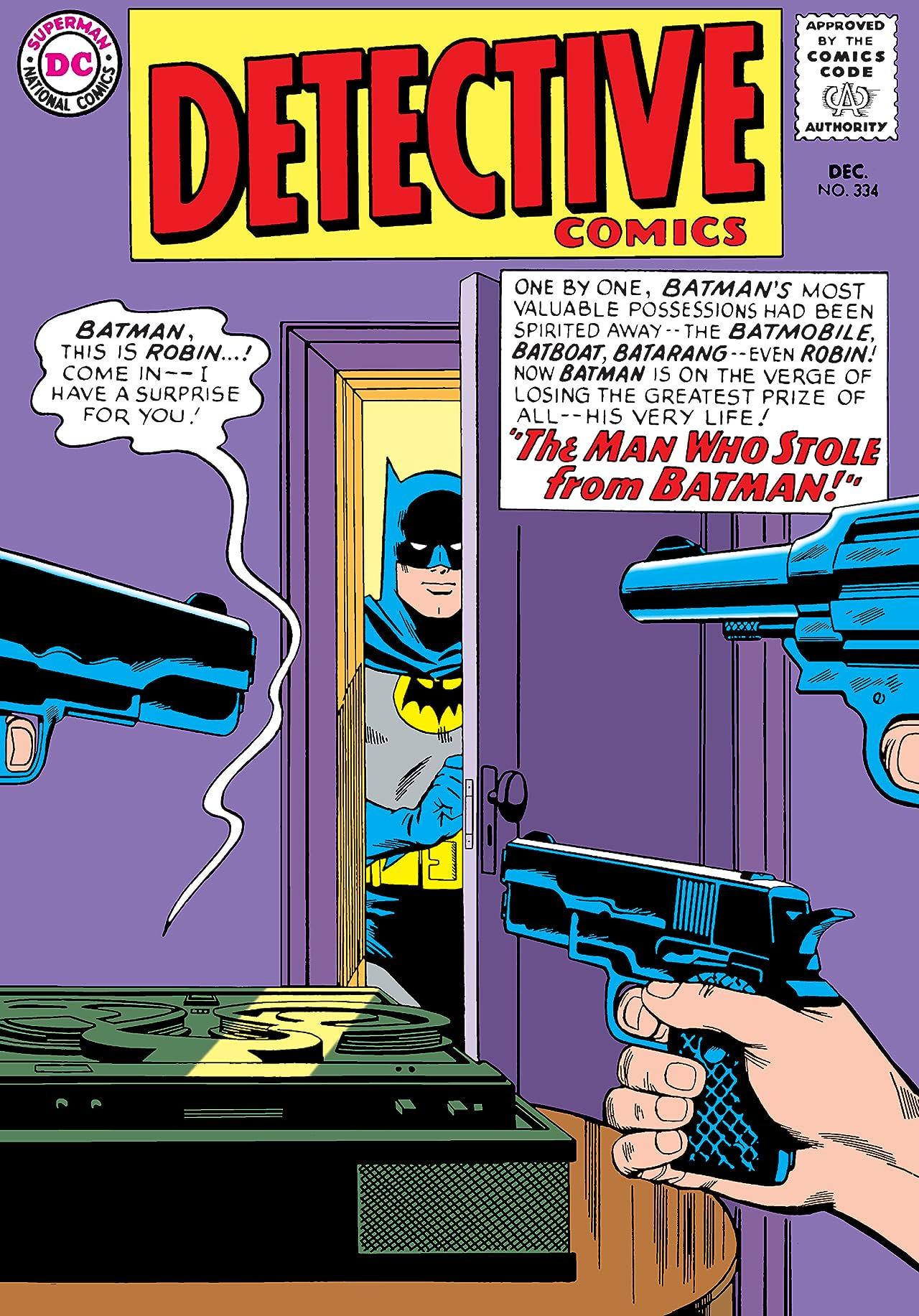 Detective Comics (1937-2011) #334