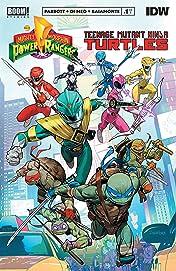 Mighty Morphin Power Rangers/Teenage Mutant Ninja Turtles #1