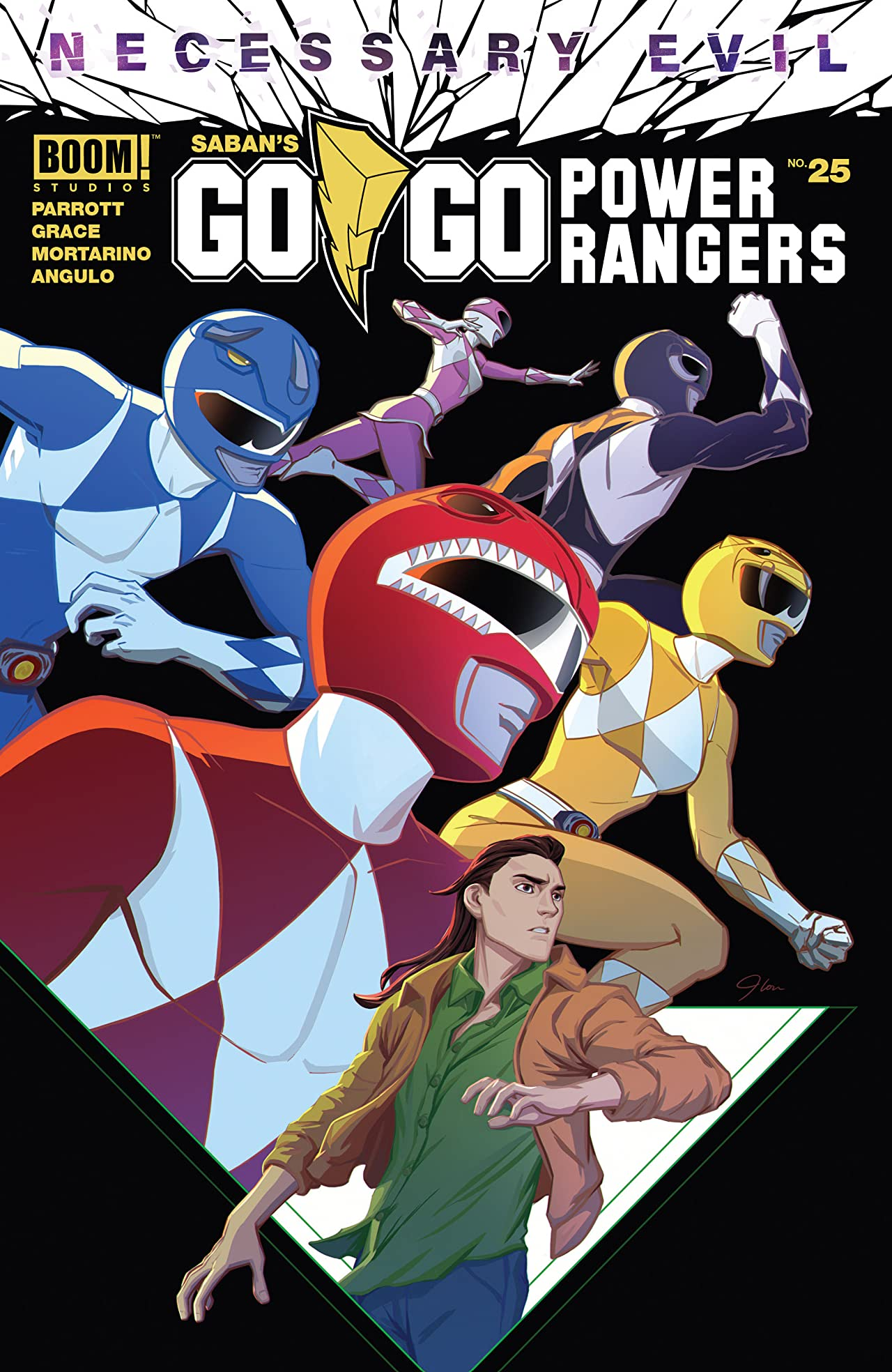Saban's Go Go Power Rangers No.25