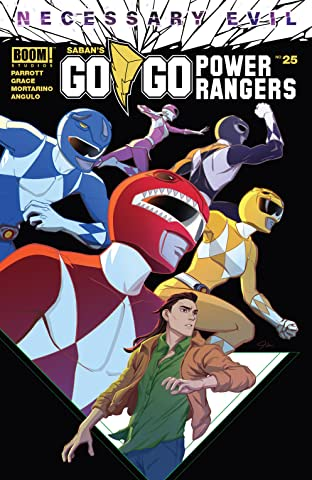 Saban's Go Go Power Rangers #25