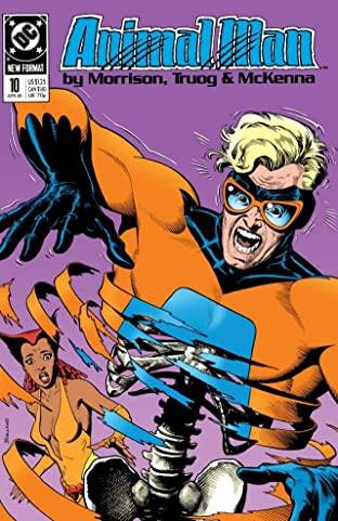Animal Man (1988-1995) No.10