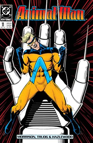 Animal Man (1988-1995) No.11