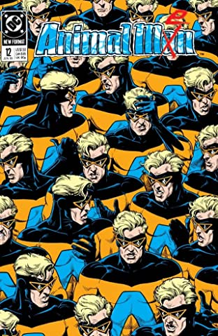 Animal Man (1988-1995) No.12