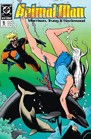 Animal Man (1988-1995) No.15