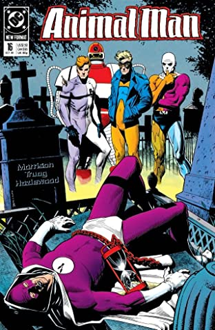 Animal Man (1988-1995) No.16