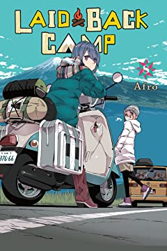Laid-Back Camp Vol. 8