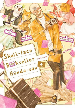 Skull-face Bookseller Honda-san Vol. 4