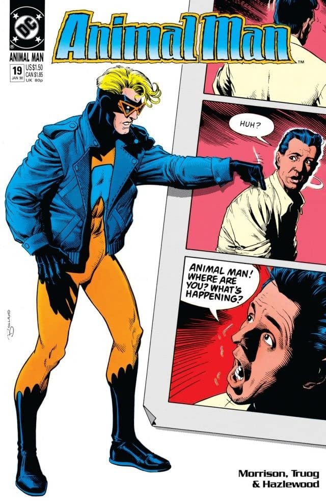Animal Man (1988-1995) #19