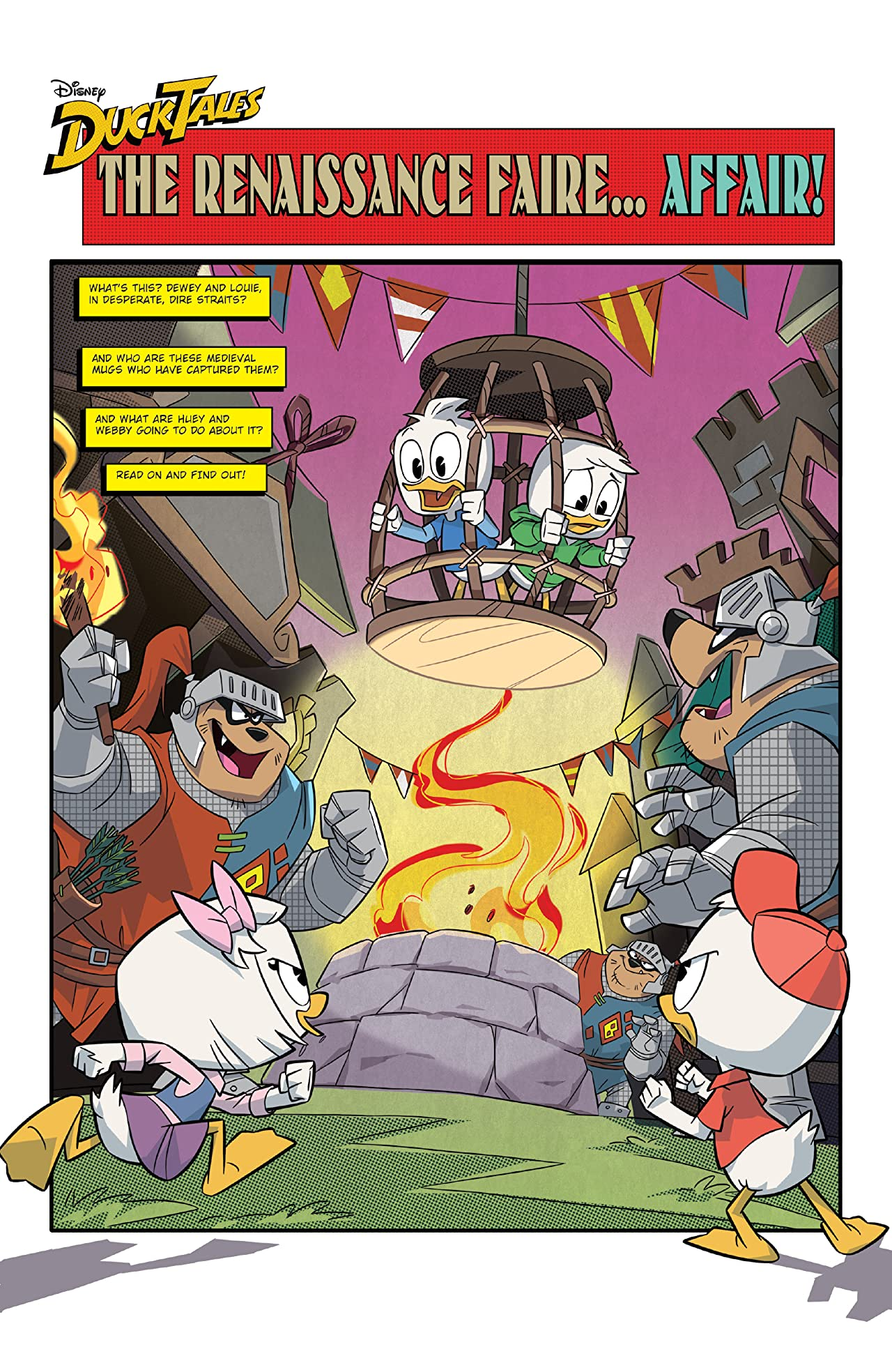 DuckTales: Faires and Scares #2 (of 3)