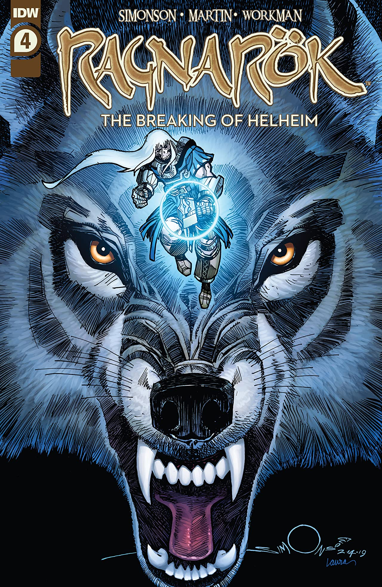 Ragnarök: The Breaking of Helheim No.4 (sur 6)