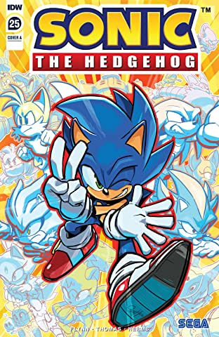 Sonic The Hedgehog (2018-) #25
