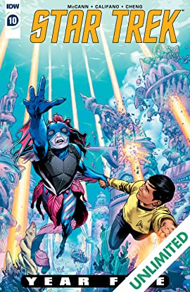 Star Trek: Year Five #10