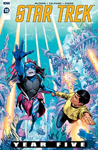 Star Trek: Year Five No.10