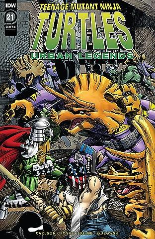 Teenage Mutant Ninja Turtles: Urban Legends No.21