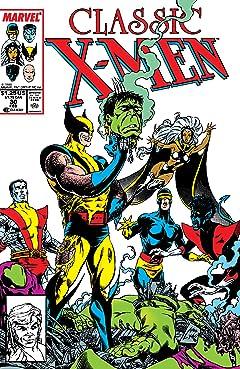 Classic X-Men (1986-1990) No.30