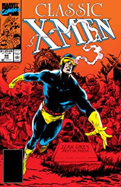 Classic X-Men (1986-1990) No.44
