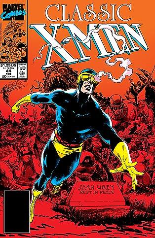 Classic X-Men (1986-1990) #44
