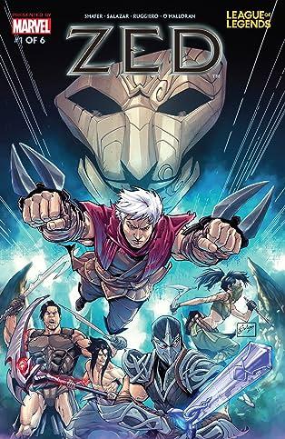 League Of Legends: Zed #1 (of 6)