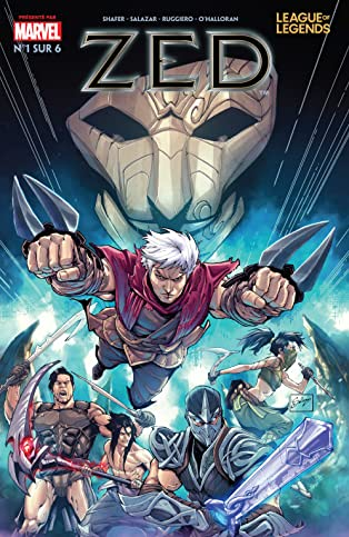 League Of Legends: Zed (Simplified Chinese) #1 (of 6)
