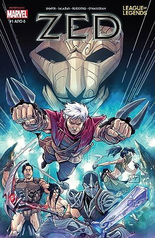 League Of Legends: Zed (Greek) #1 (of 6)