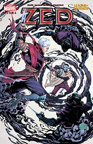 League Of Legends: Zed (French) #2 (of 6)