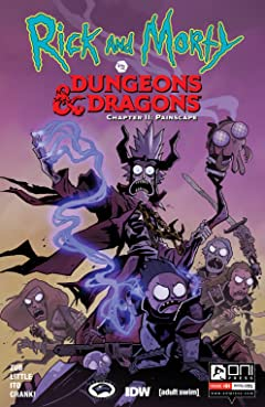 Rick and Morty vs. Dungeons & Dragons II No.4: Painscape