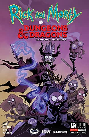 Rick and Morty vs. Dungeons & Dragons II #4: Painscape