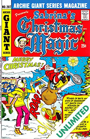 Sabrina's Christmas Magic (Archie Giant Series #207) #2