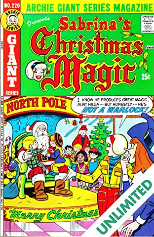 Sabrina's Christmas Magic (Archie Giant Series #220) #3