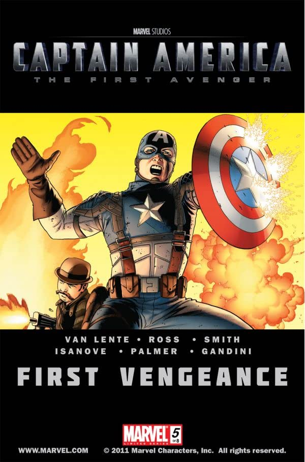 Captain America: The First Avenger #5: First Vengeance