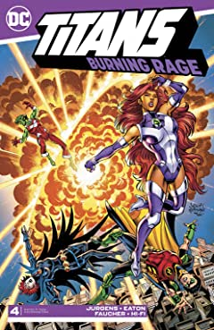 Titans: Burning Rage (2019-) #4