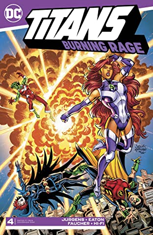 Titans: Burning Rage (2019-) #4