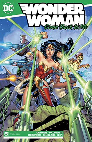 Wonder Woman: Come Back to Me #5