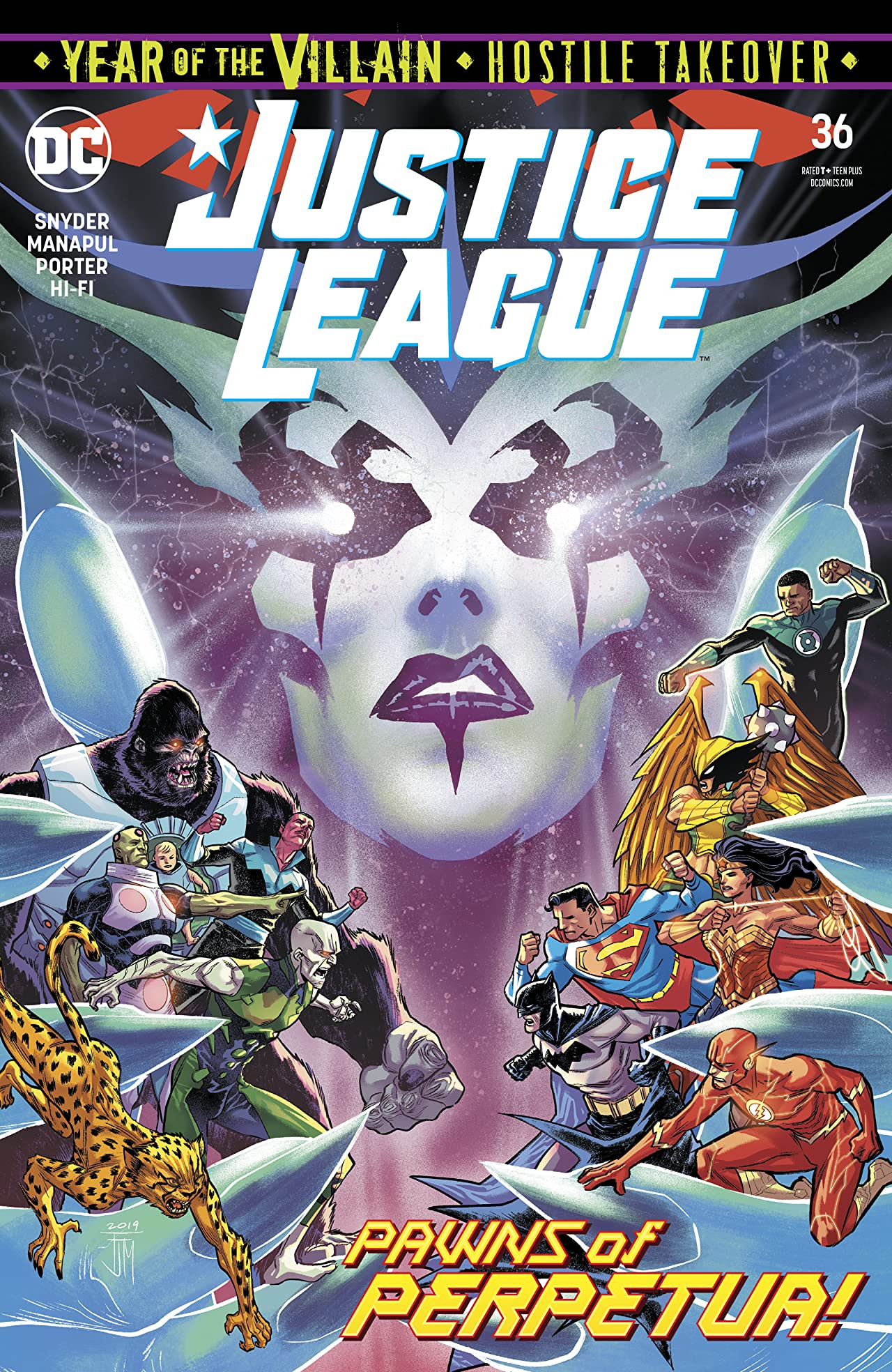 Justice League (2018-) No.36