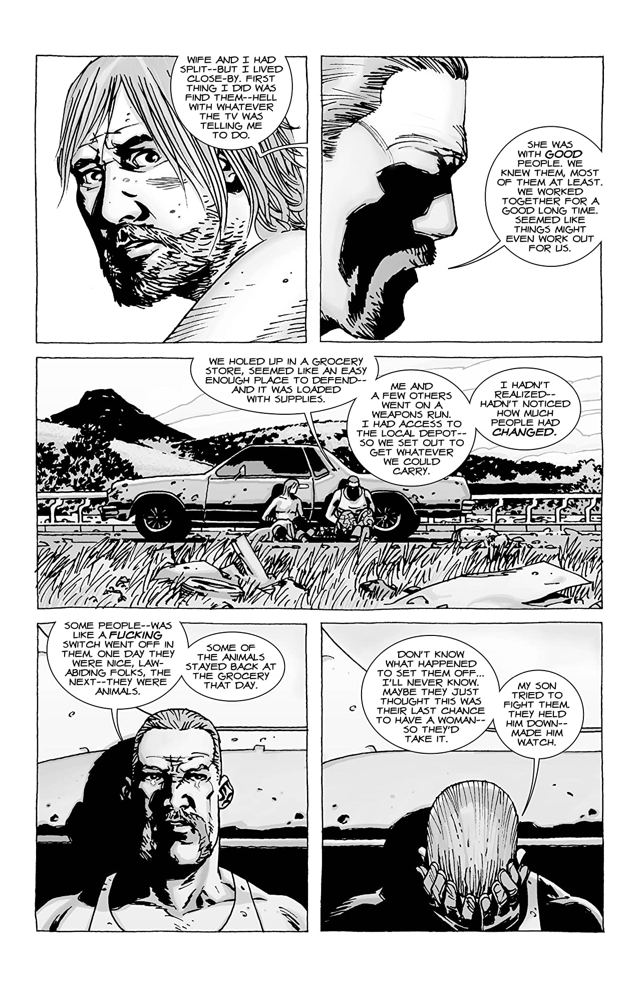 The Walking Dead #58