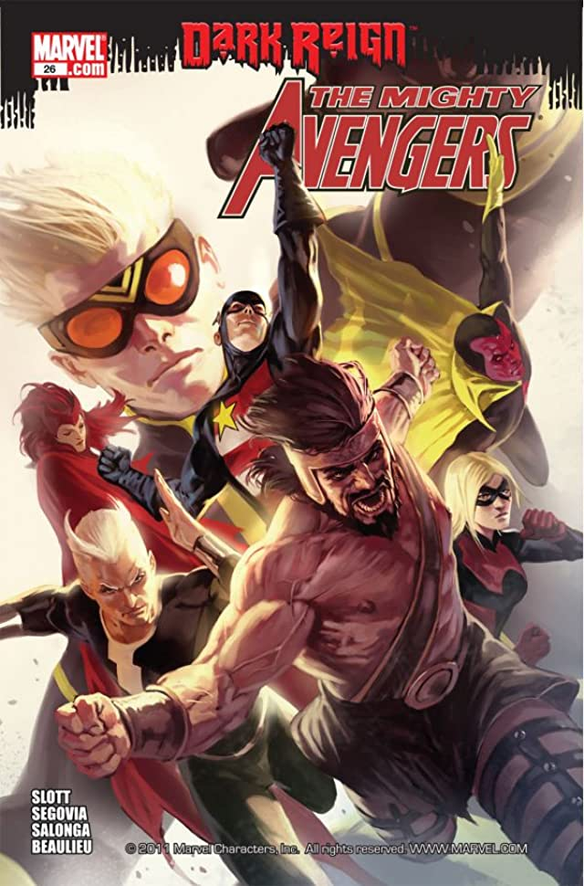 Mighty Avengers (2007-2010) #26