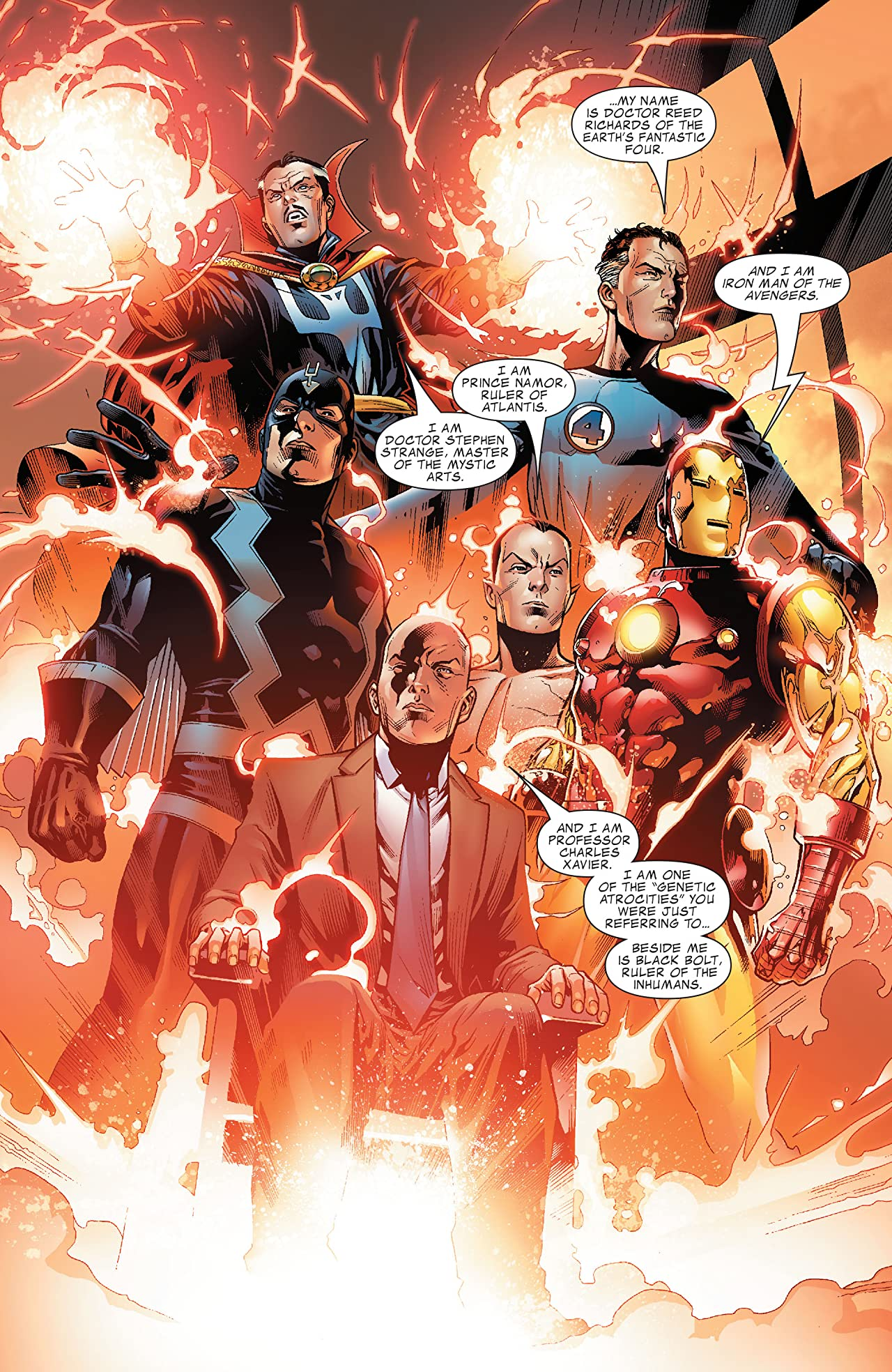 New Avengers: Illuminati #1 (of 5)