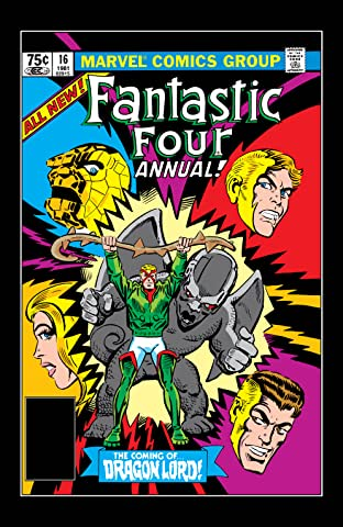 Fantastic Four (1961-1998) Annual No.16