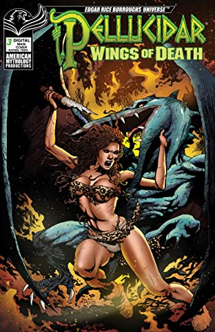ERB Pellucidar: Wings of Death No.3
