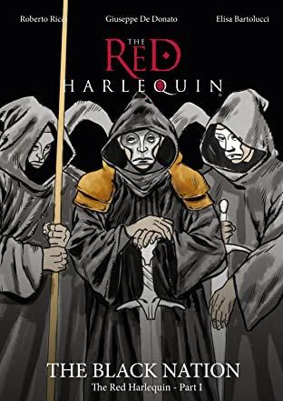 The Red Harlequin Graphic Novel Series #1