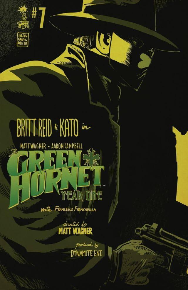 Green Hornet: Year One #7