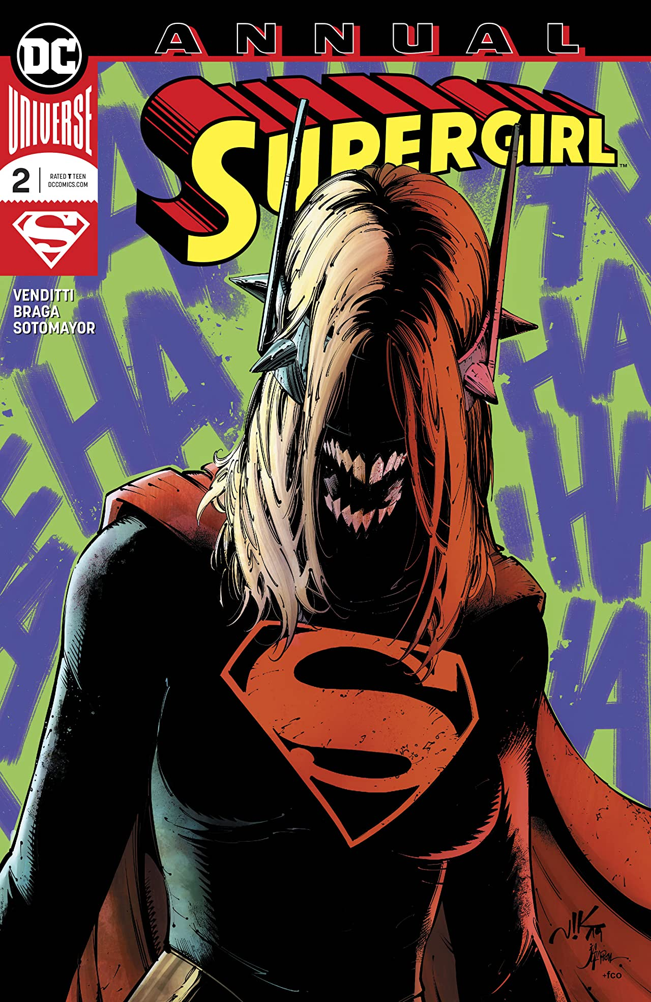 Supergirl (2016-) Annual No.2